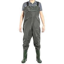 Hamimelon Waders Pantalon de pêche imperméable pour la chasse