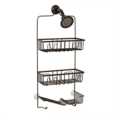 Zenna Home 7781HB, Over-the-Showerhead Caddy, Oil Rubbed Bronze