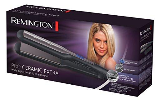 Remington Pro Ceramic Extra S5525 - Plancha de Pelo, Cerámica Avanzada,...