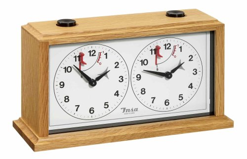 Philos 4014156046825 - Chess Clocks (Mecánico, Analógica, 115 mm, 215 mm, 80 mm, 860 g)