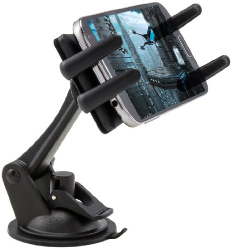 790cba2858c37b Arkon Windshield Dash Smartphone Car Mount for Apple iPhone 6 Plus 6 5 5S 5C  Samsung Galaxy Note Edge 4 3 2 S5 S4 Fire Phone Features and Description: