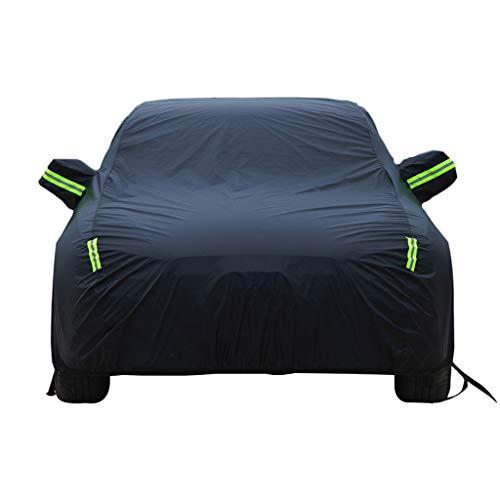 Autoabdeckung Kompatibel mit BMW 1er M Car Cover Car Persenning Sonnenschutz Regen Staub Frostschutz- Eindickung Isolierung Oxford Cloth Car Cover A Persenning (Color : Black)