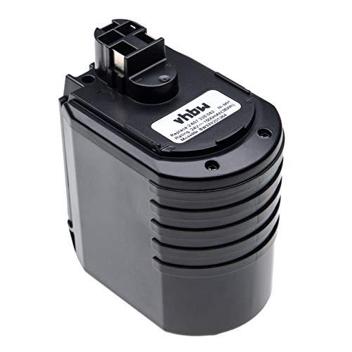 vhbw batería compatible con Würth ABH 20, ABH 20-SLE herramienta eléctrica (1500mAh, 24V, NiMH)