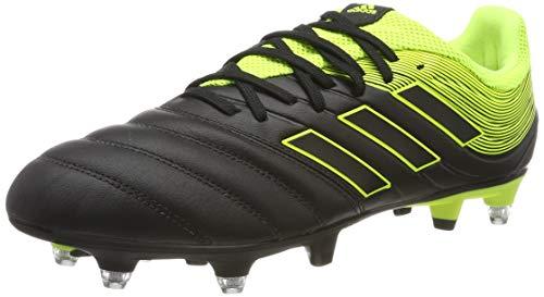 adidas Copa 19.3 SG, Scarpe da Calcio Uomo, Multicolore Core Black Solar Yellow Core Black Cg6920, 42 EU