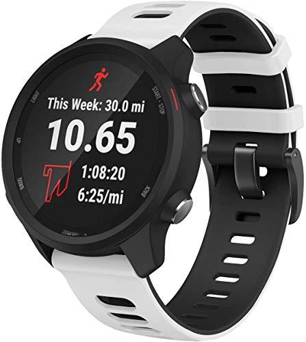 Gransho Compatible con Honor MagicWatch2 46mm / Watch GS Pro/Magicwatch Correa de Reloj, Banda de Reemplazo Silicona Suave Sports Pulsera (22mm, Pattern 3)