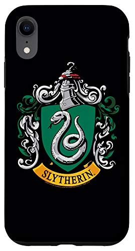 iPhone XR Harry Potter Slytherin House Crest Case