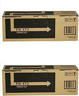Kyocera TK-172 (TK172) Black Toner Cartridge 2-Pack for FS-1320D, FS-1370DN, P2135