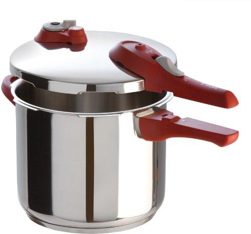 T-fal Simply Delicioso Express - olla de presión para lavaplatos (acero inoxidable), Plateado, Pequeño, 1