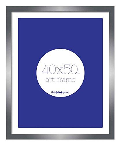 Piramid Seattle Tin fotolijst te houden foto/foto/poster, afmetingen 40 x 50 cm (50,8 x 40,6 cm ca.) – Houten frame.