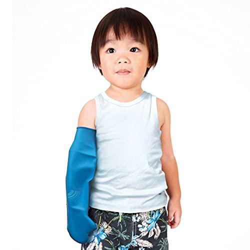 Bloccs Protector de Escayola Impermeable Brazo Completo para Niño, (XS)