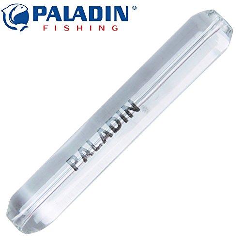 Paladin Glas Sticks Vetrino Short, Glasstick, Glasstäbe als Gewicht für Forellenposen, Glasgewichte zum Forellenangeln, Gewicht:8g