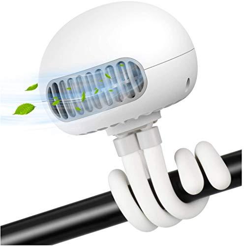 Ventilador de escritorio, ventilador eléctrico, ventilador de escritorio USB portátil, ventilador electrónico de refrigeración por aire para acampar en interiores de oficina, etc,B