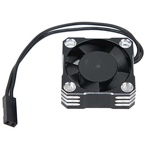 XINMYD Ventilador de refrigeración RC, Ventilador de refrigeración de Motor de Coche RC de 30x30 MM 20000 RPM Ventilador de refrigeración eléctrico de Alta Velocidad Impermeable