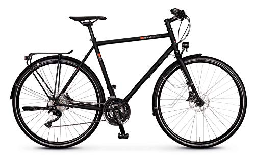 vsf - Bicicletta da trekking T-700 Shimano Deore XT 30-G Disc 2020 (28' diamante 52 cm, Ebony opaco)