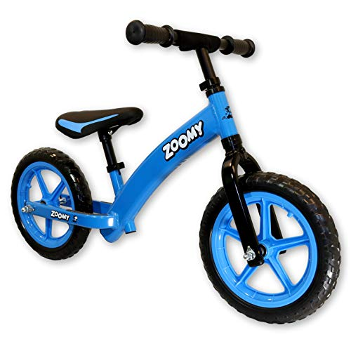 Zoomy Leisure Aluminium Balance Bike for Kids - Blue