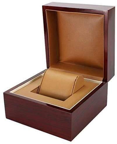 Gymqian Watch Box Watch Storage Luxurious Wooden Watch Box &Amp; Display Box with Wooden Gift Box Watch Exquisite