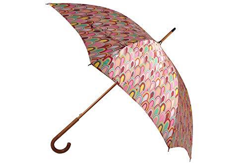 Missoni Designer Schirm Stockschirm Umbrella Ombrello Paraguas Parapluie - Orange Label