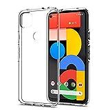 Google Pixel 5a 5G專用 ケース クリア TPU素材 軽量 薄型 耐衝撃 落下防止 すり傷防止 指紋防止 Google Pixel 5a 5G 用カバー