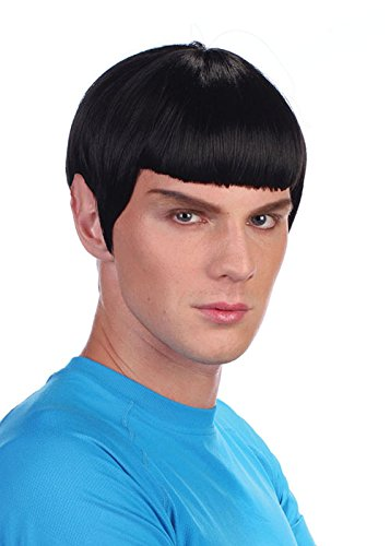 Erwachsene Mens Spock Stil Raum Mann Perücke