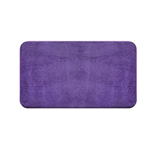 UKKO Felpudo para interiores y exteriores, 50 x 80 cm, varios colores, muy absorbente, alfombra de entrada, alfombra absorbente para muebles, alfombrilla de goma para muebles