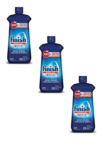 Finish Jet-Dry, Rinse Agent, 32 Ounce Pack of 3