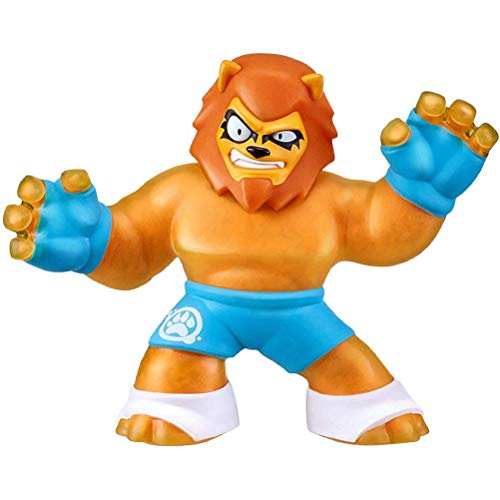 "SFNTION Heroes of Goo Zit Zu Super Stretchy Action Figure Sahario The Lion"" Descomprime los Juguetes"