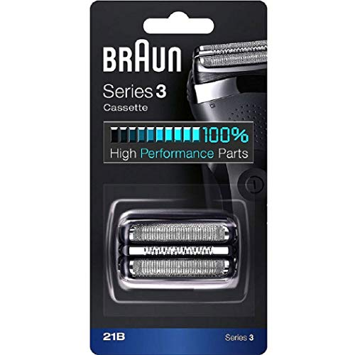 Braun Series 3 Shaver Cassette Black 21B