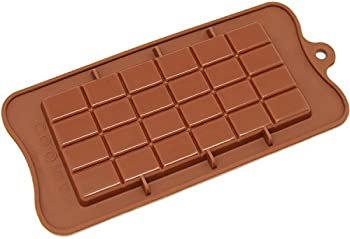 Freshware Silicone Chocolate Non Stick Candy Molds