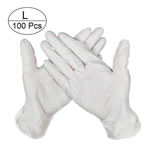 NO LOGO LT-HOME, 100 STKS 3 Kleur Wegwerphandschoenen Latex Vaatwasser/Keuken/Medisch/Werk/Rubber/Tuinhandschoenen Universeel Voor Links en Rechts Hand
