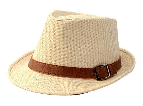East Majik Unisexe Homburg Panama Chapeau de Paille