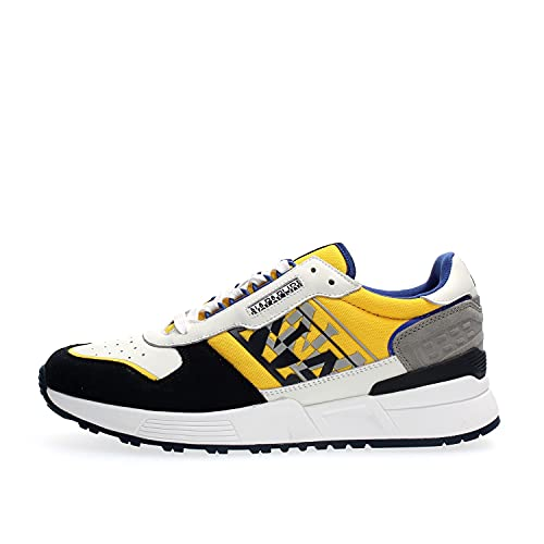 Napapijri Footwear NA4FJW Sparrow Sneakers Herren White Yellow 45