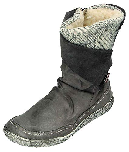 MICCOS Shoes Stiefel D.RV-Stiefel in grau, Größe 38.0,