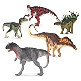Terra by Battat – 5 Dinosaur Toys, Small – Dinosaurs for Kids & Collectors, Scientifically Accurate & Designed by A Paleo-Artist; Age 3+ (5 Pc), Multi (AN4055Z)
