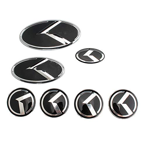 D28JD Logo-Emblem für Karosserie ABS Buchstaben Aufkleber für K-ia Sorento K5 KIA VIP Kflight,Silber
