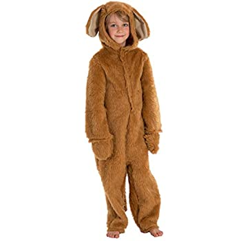 Fur Golden Retriever or Labrador Costume for Kids 7-9 Years
