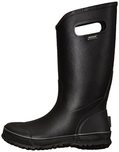 Bogs Mens Rain Boot 71913 Black Rubber Boots 42 EU