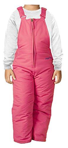 Arctix Infant-Toddler Chest High Snow Bib Overalls, Fuchsia, 5T