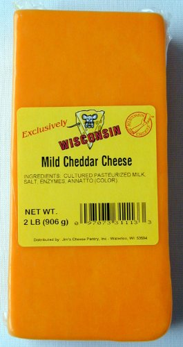 Wisconsin Cheddar, Colby, or Jack Cheese, Colby