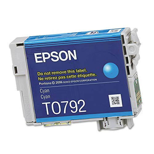 Epson T079220 Ink Cartridge Cyan - 1 Pack in Retail Packing Photo #2