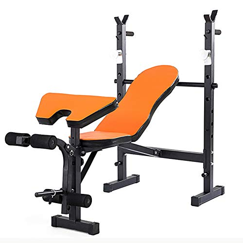 CCSU Olympic Weight Bench for Full Body Workout,Foldable Exercise Olympic Bench,Adjustable Multi-Functional Standard Set for Indoor Exercise