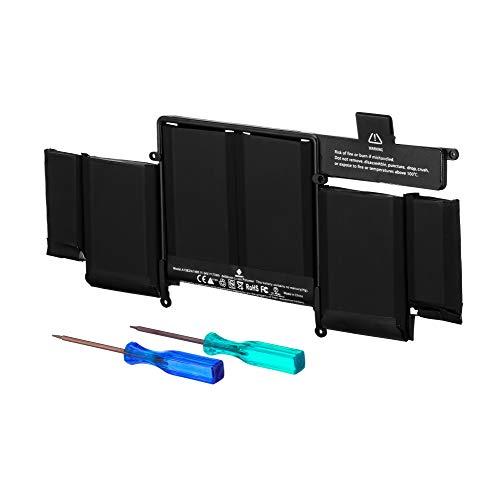 E EGOWAY Laptop Ersatz Akku A1493 A1582 für MacBook Pro 13 Zoll Retina A1502 (Ende 2013, Mitte 2014 und Anfang 2015), Passend für ME864LL/A ME865LL/A ME866LL/A