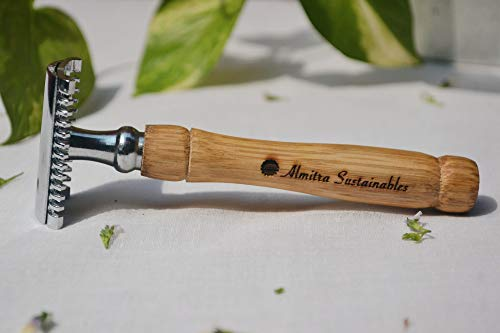 Reusable Bamboo Safety Razor (Double Edged) â Pack of 2