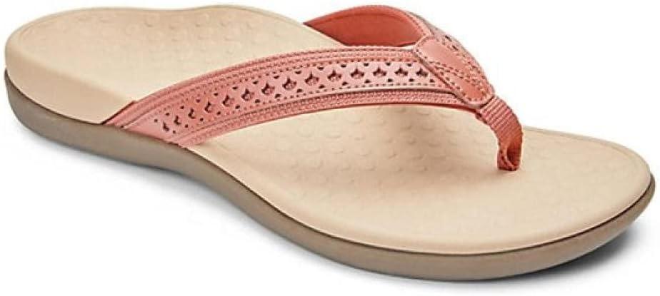 COQUI flip Flop Men,Human Pattern Fluttering Bottom Hollow Clip Carving Massage Bottom Beach Sandals Female-Pink_42