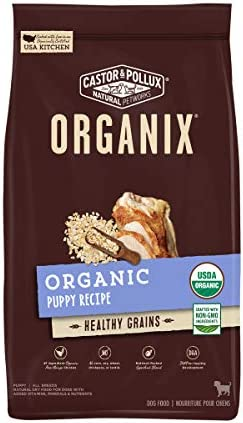 Castor Pollux Organix with Healthy Grains Organic Puppy Dry Dog Food 10LB Bag product image