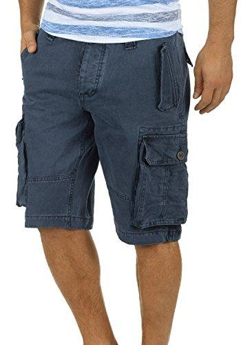 !Solid Pombal Herren Cargo Shorts Bermuda Kurze Hose Aus 100% Baumwolle Regular Fit, Größe:XL, Farbe:Insignia Blue (1991)
