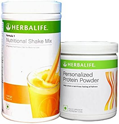 Herbalife Formula 1 Shake 500 g Weight Loss - Mango + Protein Powder 200 g