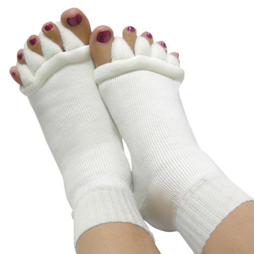 Toe Alignement Socks straightens aligns toes by Nutrition World