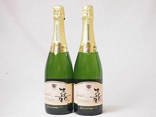 2本セット 高畑 嘉スパークリングスウィート マスカットオレンジ 甘口スパークリングワイン 750ml×2本