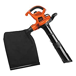 top rated BLACK + DECKER (BV6600) Electric 3-in-1 blower, leaf vacuum cleaner, mulcher, 12A. 2021