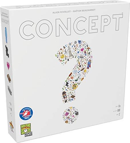 Repos Production Concept NL Kinder und Erwachsene Quiz-Spiel – Brettspiel (Quiz-Spiele, Kinder und Erwachsene, 40 Minuten, Junge/Mädchen, 10 Jahre, Niederländisch)